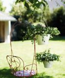 Kvetináč ELHO Corsica Hanging basket, 30 cm - white