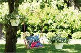 Kvetináč ELHO Corsica Hanging basket, 30 cm - taupe