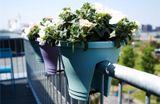 Kvetináč ELHO Corsica Flower Bridge, 30 cm - white