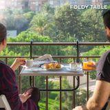 Skladací balkónový stôl Foldy Table B