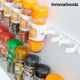 Nalepovacia a rozdeliteľná polička na koreničky InnovaGoods Kitchen Foodies