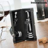 Set na víno s vývrtkou Screwpull InnovaGoods (4 časti)