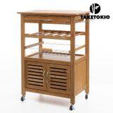 Bambusový kuchynský vozík TakeTokio