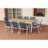 Hliníková záhradná stolička MILANO