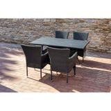 Stôl FLORENCE 150 antracit