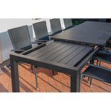 Rozkladací záhradný stôl GRANDE PASTO XXL