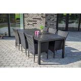 Záhradný jedálenský stôl VIKING XL
