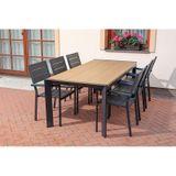 Záhradný jedálenský stôl VERONA 200