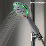 LED sprchová hlavica s čidlom a ukazovateľom teploty InnovaGoods