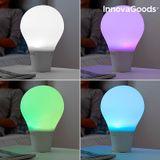 LED dotyková silikónová lampa žiarovka s reproduktorom Silitone InnovaGoods