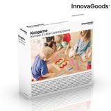 Drevená hračka na tvorenie písmen a čísel Koogame InnovaGoods 27 dielov