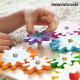 Hra drevených ozubených koliesok Engenius InnovaGoods 12 dielov