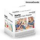 Drevená registračná pokladňa s doplnkami Kashy InnovaGoods