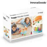 Drevené váhy s doplnkami Treggy InnovaGoods 9 dielov