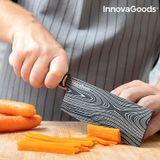 Sada japonských nožov s prenosným obalom Damas·q InnovaGoods 4 diely