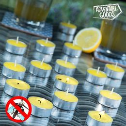 Citronelové sviečky Adventure Goods (15 kusov)