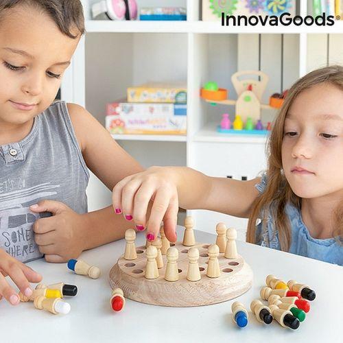 Drevené pamäťové šachy Taeda InnovaGoods 26 dielov