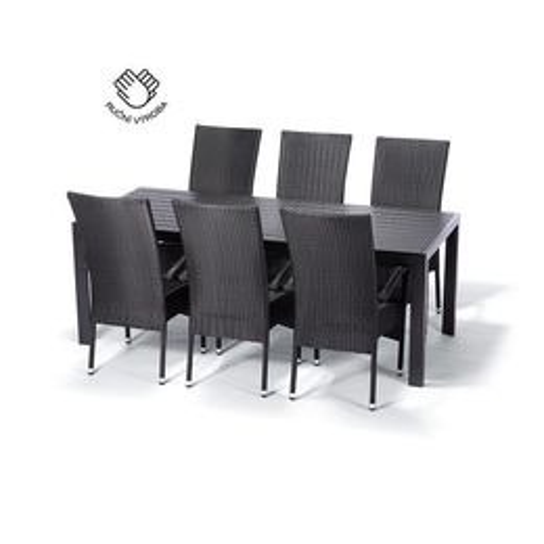 Jedálenský set VIKING XL + 6 stoličiek PARIS XXL