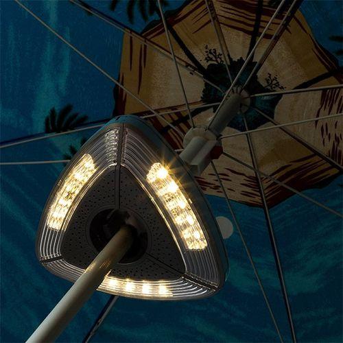 LED lampa na slnečník Ambiance