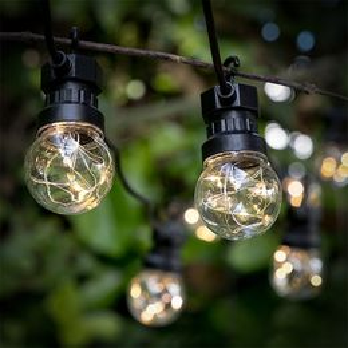 LED reťaz Žiarovky (50 LED)