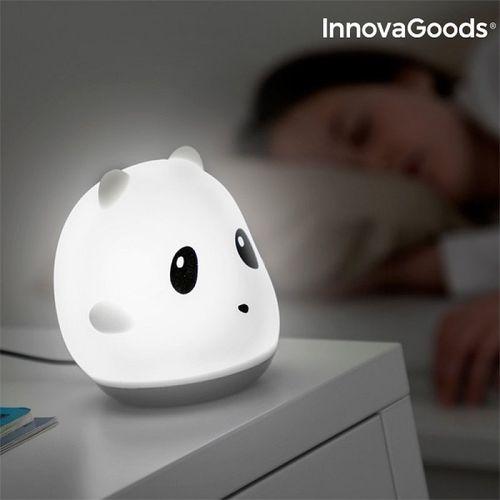 Nabíjacia silikónová dotyková lampa Panda InnovaGoods