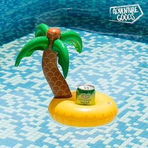 Nafukovací stojan na plechovky Palmový ostrov Adventure Goods