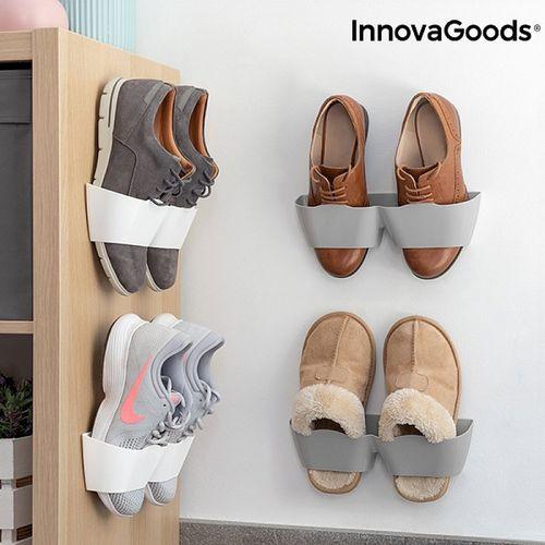 Nalepovací držiak na topánky InnovaGoods (4 páry)