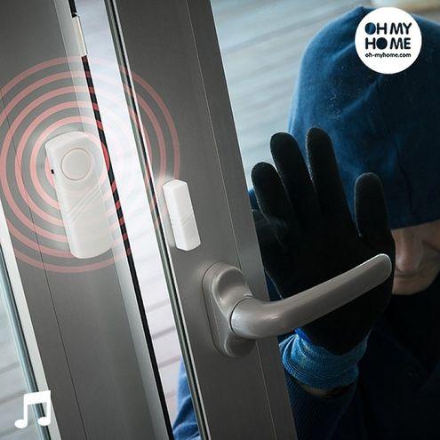 Bezdrôtový alarm s dotykovým čidlom Oh My Home (3 kusy)