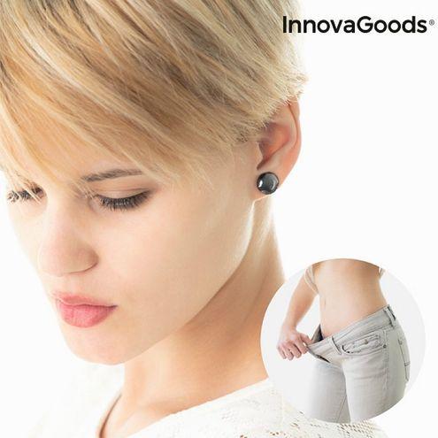 Biomagnetické náušnice na chudnutie Slimagnetic InnovaGoods