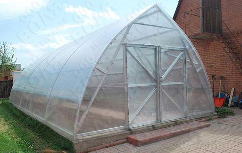 Farmársky polykarbonátový skleník VOLYA 5m.