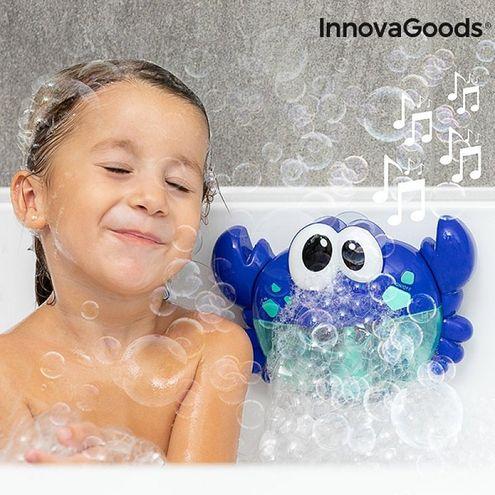 Hudobný krab s mydlovými bublinami do vane Crabbly InnovaGoods