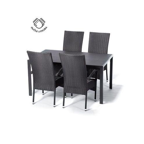 Jedálenský set VIKING L + 4 stoličky PARIS XXL