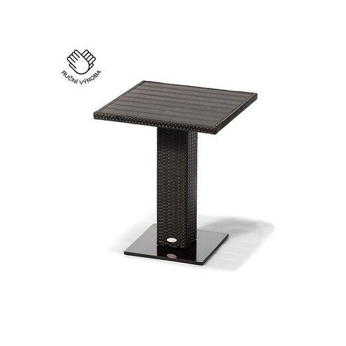 Jedálenský stôl BISTRO SIENA antracit