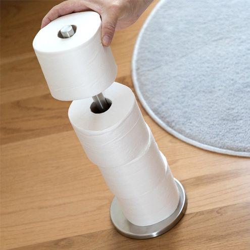 Kovový držiak na toaletný papier