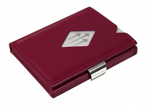 Kožená peňaženka EXENTRI červená, RFID block