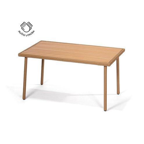 Ľahký jedálenský stôl PISA cappuccino