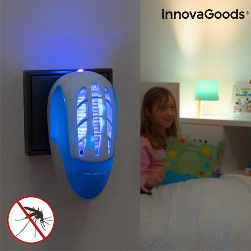 Lapač komárov do zásuvky s LED ultrafialovým svetlom InnovaGoods