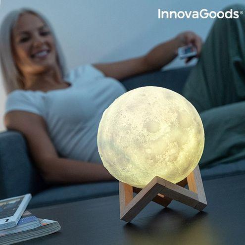 Nabíjacia LED lampa Luna InnovaGoods