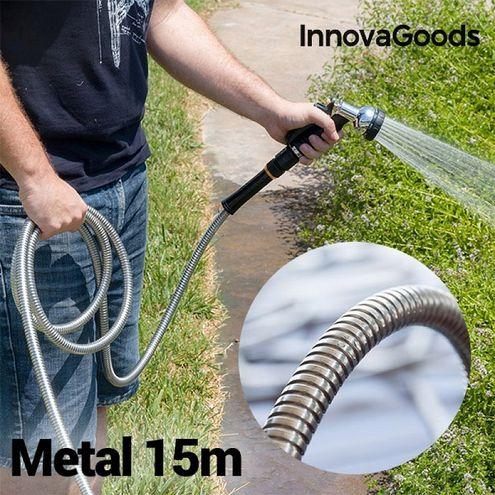 Nerozbitná kovová hadica InnovaGoods (15 m)