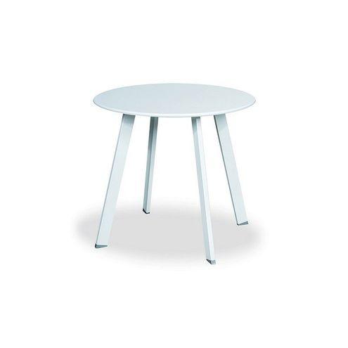 Nízky stolík biely