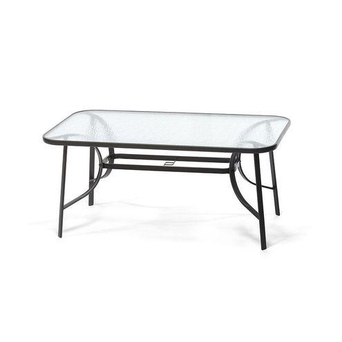 Oceľový záhradný stôl STANDARD XL čierny