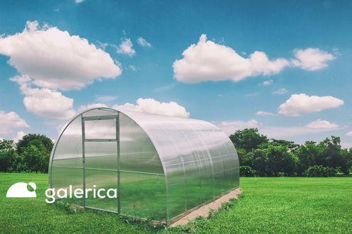 Polykarbonátový skleník GALERICA GARANT 4 mm.