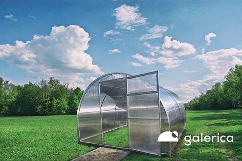 Polykarbonátový skleník GALERICA GENIO 4 mm.
