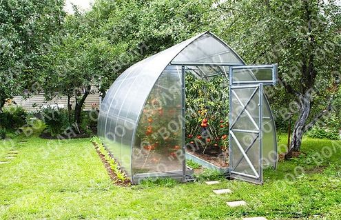 Polykarbonátový skleník VOLYA STRELKA 4 mm.