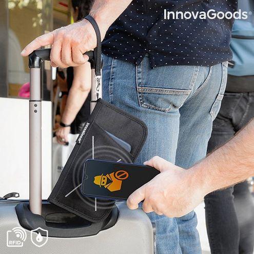 Puzdro na doklady s RFID ochranou Wallock InnovaGoods