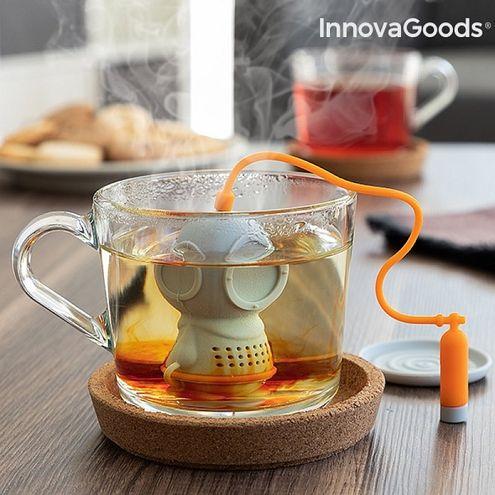 Silikónové čajové sitko Potápač InnovaGoods