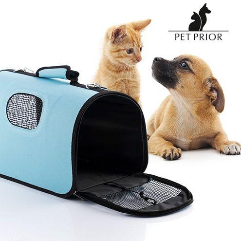 Skladacia prepravná taška na domáce zvieratá Pet Prior