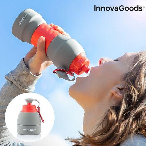 Skladacia silikónová fľaša na pitie InnovaGoods