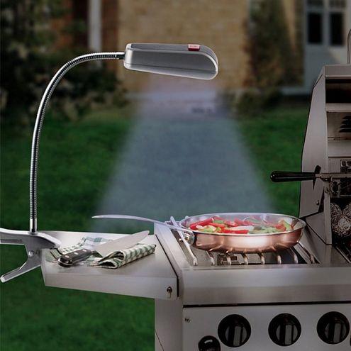Svetlo ku grilu so svorkou BBQ (9 LED)