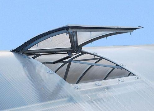Vetracie strešné okno pre skleník VOLYA 2DUM